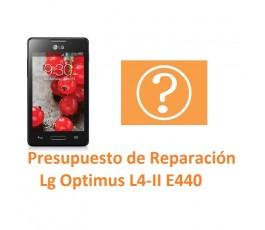 Presupuesto de Reparación Lg Optimus L4-II E440 - Imagen 1