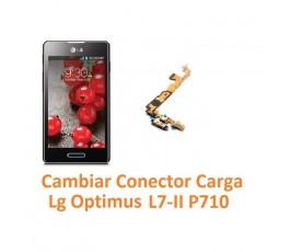 Cambiar Flex Conector Carga Lg Optimus L7-II P710 - Imagen 1