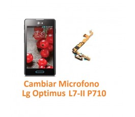 Cambiar Flex Microfono Lg Optimus L7-II P710 - Imagen 1