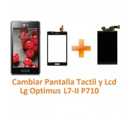 Cambiar Pantalla Táctil y Lcd Lg Optimus L7-II P710 - Imagen 1