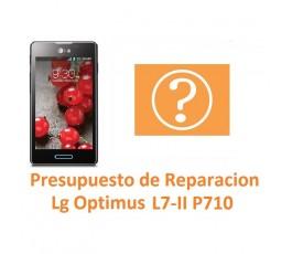 Presupuesto de Reparación Lg Optimus L7-II P710 - Imagen 1