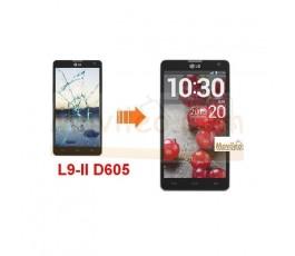 Cambiar Pantalla Tactil (cristal) LG Optimus L9-II D605 - Imagen 1