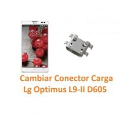 Cambiar Conector Carga Lg Optimus L9-II D605 - Imagen 1