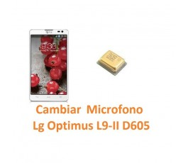 Cambiar Micrófono Lg Optimus L9-II D605 - Imagen 1