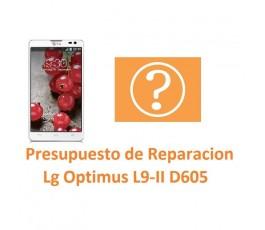 Presupuesto de Reparación Lg Optimus L9-II D605 - Imagen 1