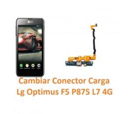 Cambiar Flex Conector Carga Lg Optimus F5 P875 L7 4G - Imagen 1