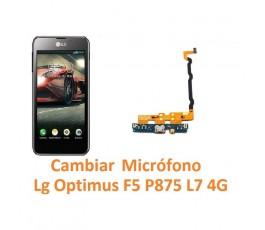 Cambiar Flex Micrófono Lg Optimus F5 P875 L7 4G - Imagen 1