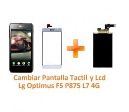Cambiar Pantalla Táctil y Lcd Lg Optimus F5 P875 L7 4G - Imagen 1