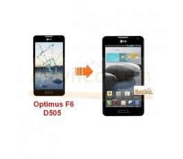 Cambiar Pantalla Tactil (cristal) LG Optimus F6 D505 - Imagen 1