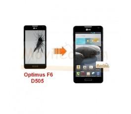 Cambiar Pantalla LCD (display) Lg Optimus F6 D505 - Imagen 1