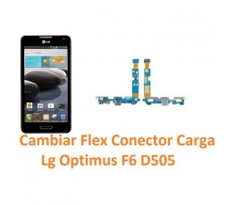 Cambiar Conector Carga Lg Optimus F6 D505 - Imagen 1