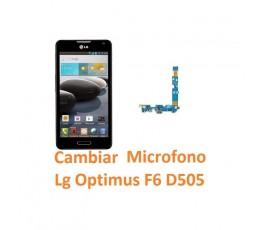 Cambiar Micrófono Lg Optimus F6 D505 - Imagen 1