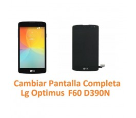 Cambiar Pantalla Completa Lg Optimus F60 D390N - Imagen 1