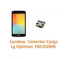Cambiar Conector Carga Lg Optimus F60 D390N - Imagen 1