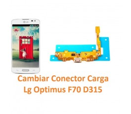 Cambiar Conector Carga Lg Optimus F70 D315 - Imagen 1