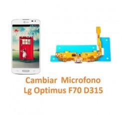 Cambiar Micrófono Lg Optimus F70 D315 - Imagen 1