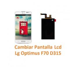 Cambiar Pantalla Lcd Lg Optimus F70 D315 - Imagen 1