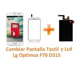 Cambiar Pantalla Táctil y Lcd Lg Optimus F70 D315 - Imagen 1