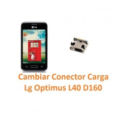 Cambiar Conector Carga Lg Optimus L40 D160 - Imagen 1