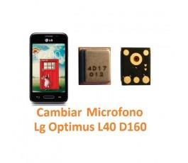 Cambiar Micrófono Lg Optimus L40 D160 - Imagen 1