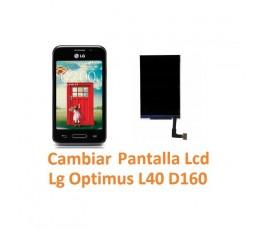 Cambiar Pantalla Lcd Lg Optimus L40 D160 - Imagen 1