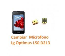 Cambiar Micrófono para Lg Optimus L50 D213 - Imagen 1