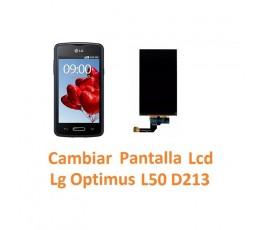 Cambiar Pantalla Lcd para Lg Optimus L50 D213 - Imagen 1