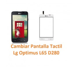 Cambiar Pantalla Táctil Lg Optimus L65 D280 - Imagen 1