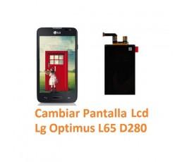 Cambiar Pantalla Lcd Lg Optimus L65 D280 - Imagen 1