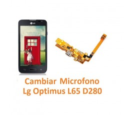 Cambiar Micrófono Lg Optimus L65 D280 - Imagen 1