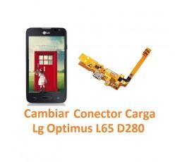 Cambiar Conector Carga Lg Optimus L65 D280 - Imagen 1