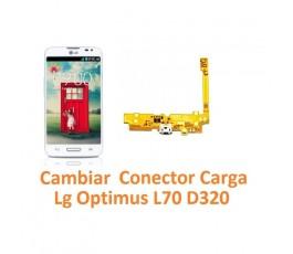 Cambiar Conector Carga Lg Optimus L70 D320 - Imagen 1