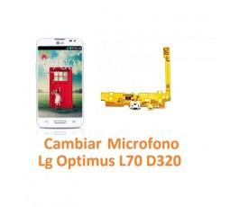 Cambiar Micrófono Lg Optimus L70 D320 - Imagen 1