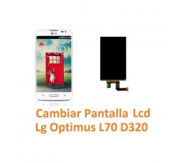 Cambiar Pantalla Lcd Lg Optimus L70 D320 - Imagen 1