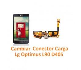 Cambiar Conector Carga Lg Optimus L90 D405 - Imagen 1