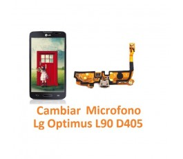 Cambiar Micrófono Lg Optimus L90 D405 - Imagen 1