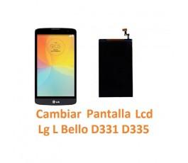 Cambiar Pantalla Lcd Lg L Bello D331 D335 - Imagen 1