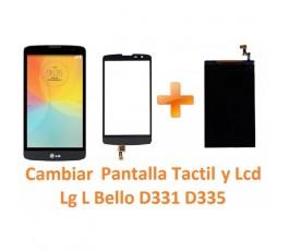Cambiar Pantalla Táctil y Lcd Lg L Bello D331 D335 - Imagen 1