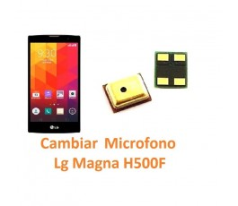Cambiar Micrófono Lg Magna H500F - Imagen 1