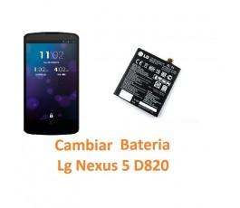 Cambiar Batería Lg Nexus 5 D820 - Imagen 1