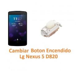 Cambiar Botón Encendido Lg Nexus 5 D820 - Imagen 1