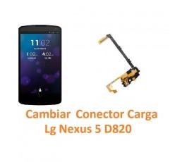Cambiar Conector Carga Lg Nexus 5 D820 - Imagen 1