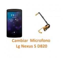 Cambiar Micrófono Lg Nexus 5 D820 - Imagen 1