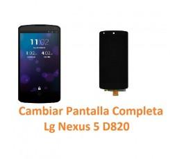 Cambiar Pantalla Completa Lg Nexus 5 D820 - Imagen 1