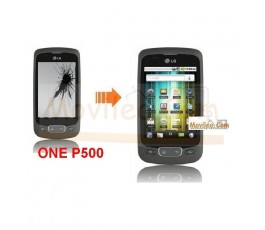 Cambiar Pantalla LCD (display) Lg Optimus One P500 - Imagen 1