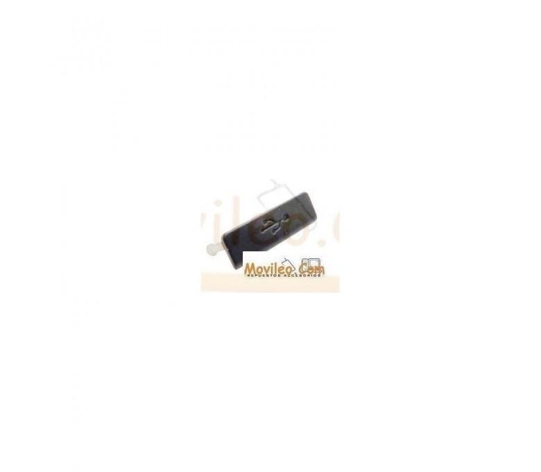 Tapa MicroUSB negra para Sony Xperia S, LT26I - Imagen 1