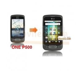 Cambiar Pantalla Tactil (cristal) LG Optimus One P500 - Imagen 1