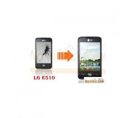 CAMBIAR PANTALLA LCD LG E510 HUB - Imagen 1