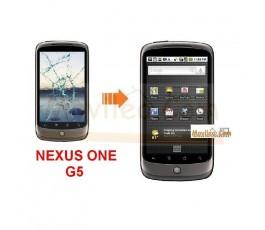 Cambiar la pantalla tactil (cristal) de Htc Nexus One G5 - Imagen 1