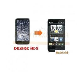 CAMBIAR PANTALLA COMPLETA HTC DESIRE HD 2 - Imagen 1